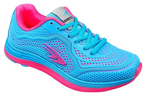 GIBRA® Damen Sportschuhe, sehr leicht und bequem, hellblau/pink, Gr. 36-41 hellblau/pink