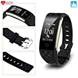 ATB S2 Fitness Tracker Heart Rate Monitor Sleep Monitor Smart Bracelet Wristband Smart Watch Activity Tracker GPS Pedometer Waterproof Training Running Health Fatigue Exercise Step Cycling Swim
