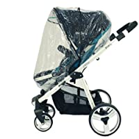 UPPAbaby Zipped Raincover For Vista & Cruz Stroller & Carrycot Pram (Universal)