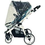 UPPAbaby Zipped Raincover For Vista & Cruz Stroller & Carrycot Pram