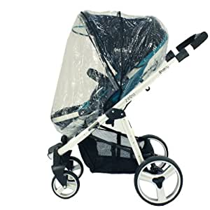 UPPAbaby Zipped Raincover For Vista & Cruz Stroller & Carrycot Pram (Universal)