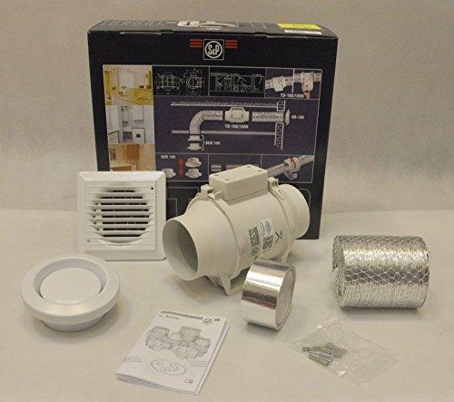 Kit installation Extracteur de conduits serie TD mixvent