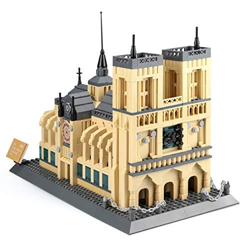 TYUE 1380 Unids Plástico Famoso Mundialmente Notre Dame Kits De Bloques De  Construcción De La Construcción