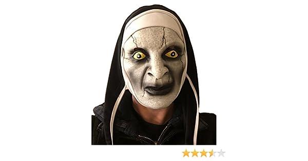daa59179a The Conjuring, Varak Nun Mask, Latex, Horror Fancy Dress, Nuns Habit, Sister,  Halloween Costume: Amazon.co.uk: Toys & Games