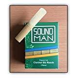 Soundman 10 Ance per Clarinetto (sistema Boehm) Reeds clarinet Bb French Cut Sib (3,0)