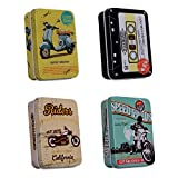 #4: Lifestyle-You Multipurpose Tin Boxes(Pack of 4)