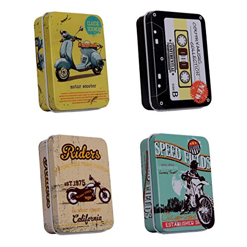 Lifestyle-You Multipurpose Tin Boxes(Pack of 4)