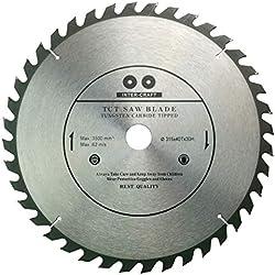 Inter-Craft Lame de scie circulaire haute qualité pour bois 315 x 30-25 mm 40 dents
