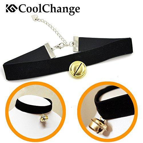 CoolChange Lolita Glöckchen Halskette, (Kostüme Sexy Glocke)