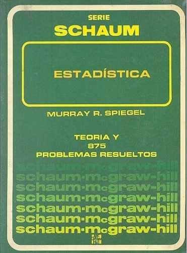 Estadistica por Murray R. Spiegel