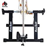 Rocket Bunny® Magnetic Bicycle Turbo Trainer Indoor Bike Trainer Exercise Bike for Road and MTB