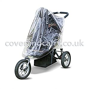 Raincover for use with Out'n'About Nipper 360 Single   9