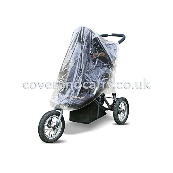 Raincover for use with Out'n'About Nipper 360 Single coverandcarry  1