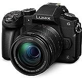 Panasonic Lumix dmc-g80mec-k–kit de caméra Evil avec Objectif F3.5–5.612–60mm (écran de 3', stabilisé Optique, 4K, WiFi), Couleur Noir