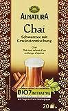 Alnatura Bio Chai-Schwarztee, 20 Beutel, 6er Pack (6 x 40 g)