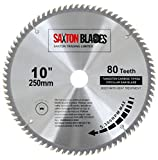 Saxton TCT Circular Wood Saw Blade 250mm x 30mm x 80T for Bosch