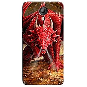 DRAGON BACK COVER FOR MICROMAX CANVAS XPRESSS