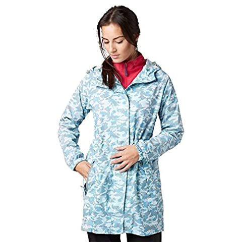 Peter Storm Women's Parka in a Pack, Blue, 14