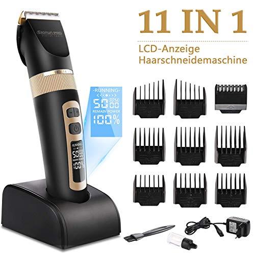 Haarschneidemaschine, 11 in 1 Profi Haarschneider Set