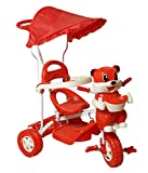 Sarthi Tricycles Bajaj Cyclehood Red Kid...
