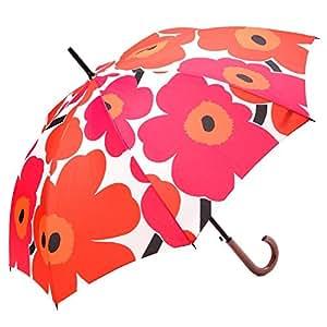 Parapluie-marimekko unikko/rouge/blanc