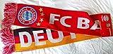Schal Fanschal WM FC Bayern MÜNCHEN + Gratis Sticker München Forever, Scarf/rassis / viciado FCB