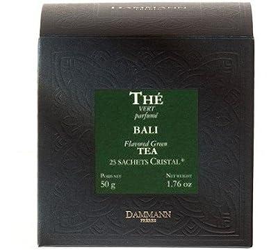 Bali - Thé vert parfumé sachets - Dammann Frères