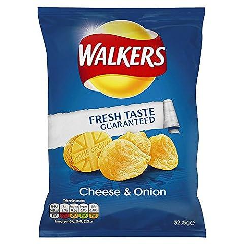 Walkers Crisps Cheese & Onion 32 x