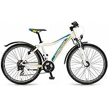 Bicicleta infantil y juvenil Winora Rage 26'21marchas Shimano TX 35, color  - weiß/cyan/orange, tamaño 45, tamaño de rueda 26.00 inches