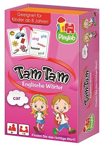 Jumbo Spiele 18167 - Tam Tam Englische Wörter, Kartenspiele