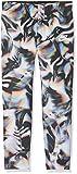 Nike aop5G NSW Leg Crop Leggings, Mädchen S Schwarz / Weiß