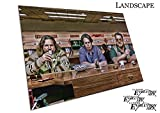 Poster Druck Big Lebowski Der Bowling Bar Dude Walter Donny - A0