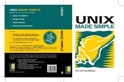 UNIX Made Simple by P K MCBRIDE (1998-01-21) par P K MCBRIDE