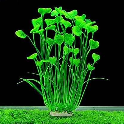 Vi.yo Artificial Water Grass Large Plastic Aquarium Plant Fish Tank Aquarium Landscape Underwater Decoration Non- toxic… 7