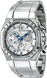 Montre  Officina del Tempo  - Affichage Analogique bracelet   et Cadran  OT1028/52A_Argento