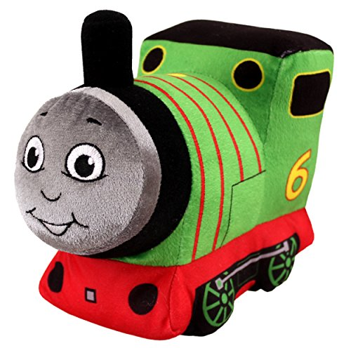 Thomas & Friends Percy Large Green Talking Soft Toy, 18.5cm