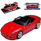 alles-meine.de GmbH Ferrari California T Cabrio Rot 1/18 Maisto Modell Auto