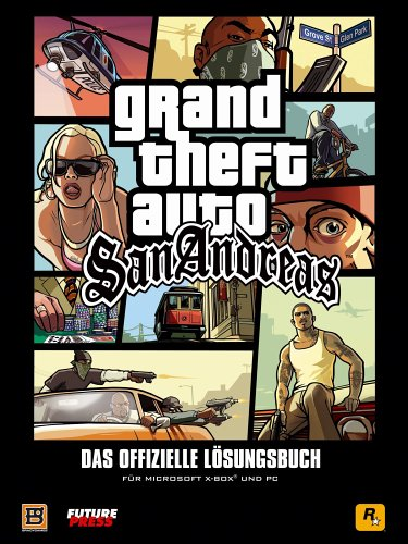 Grand Theft Auto: San Andreas Lösungsbuch (PC & Xbox)