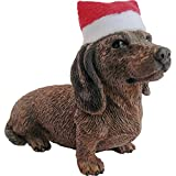 Sandicast Red Dachshund with Santa Hat Christmas Ornament by Sandicast best price on Amazon @ Rs. 2686