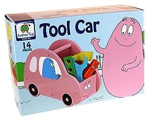 Barbapapa Coche con Herramientas Color Rosa Barbo Toys 2648