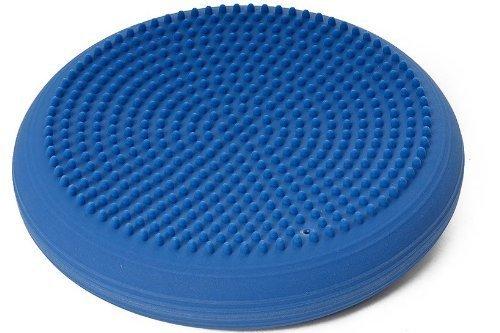 DYNAIR Ballkissen Senso Level 1 33cm blau Fitness Training Kissen Therapie