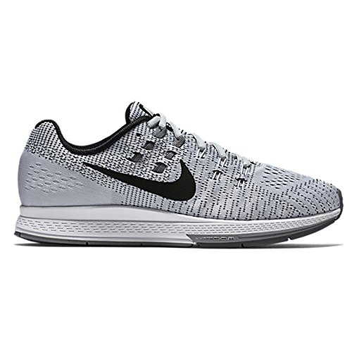 Nike Air Zoom Structure 19, Chaussures de Running Homme, 9 EU Multicolore - Plata / Negro / Blanco / Gris (Pure Platinum/Blk-White-Cl Gry)