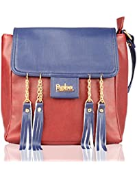 PU Polyurethane Casual Fashionable Women Sling Cross Body Bag Ladies Sling Bag By REBA (Available In 2 Colors)...