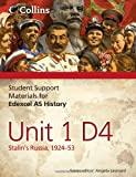 Student Support Materials for History - Edexcel AS Unit 1 Option D4: Stalin's Russia, 1924-53