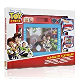 Toy Story Magnetic Scribbler For Toddlers With Woody, Jessie, Buzz | Magnetic Drawing Board With Magic Eraser, Pen, Stencil, Stampers | Toy Story Toys For Boys And Girls, Educational Toys Aged 3 4 5+