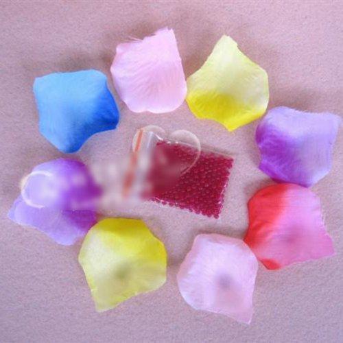 HuntGold 10X Multicolor Zauberkristallschlamm Boden Wasser Perlen für Blumen Pflanzerde ersetzen (violett roten )