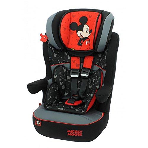 mycarsit Autositz Disney, Gruppe 1/2/3(von 9bis 36kg), Motiv Mickey