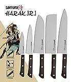 Samura Harakiri Messer Set 5-teilig.: Gemüsemesser 99 mm
