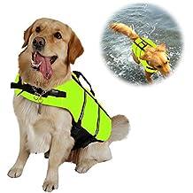 CXvwons Chaleco salvavidas para perro con cinturón ajustable
