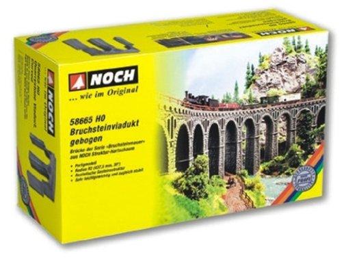 58665 - NOCH - Bruchsteinviadukt gebogen
